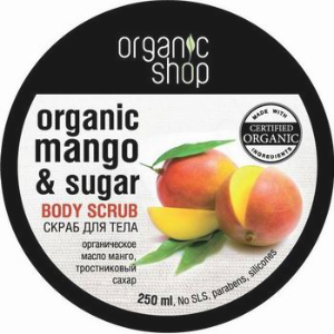 ORGANIC SHOP Scrub do ciała KENIJSKIE MANGO - 250ml