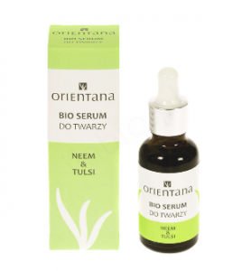 ORIENTANA Bio serum do twarzy NEEM & TULSI - 30ml