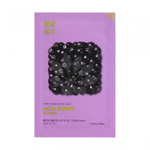 HOLIKA HOLIKA Maska w płacie Pure Essence Mask Sheet - ACAIBERRY - 1szt.